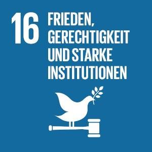 SDG 16 - Frieden, Gerechtigkeit und starke Institutionen - Ratinger Tage der Nachhaltigkeit #RTDN - Ratingen.nachhaltig